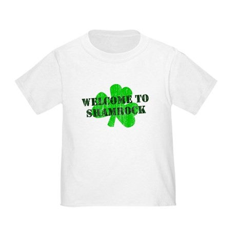 Welcome to Shamrock Toddler T-Shirt