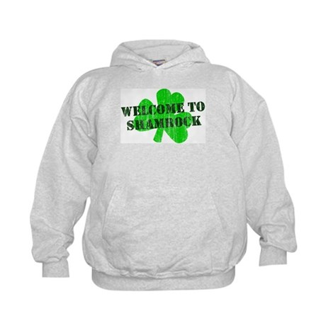 Welcome to Shamrock Kids Hoodie