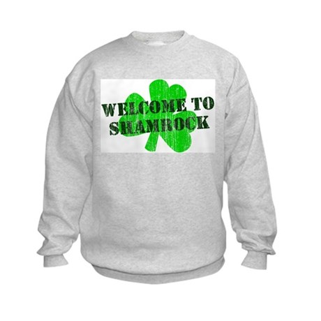 Welcome to Shamrock Kids Sweatshirt