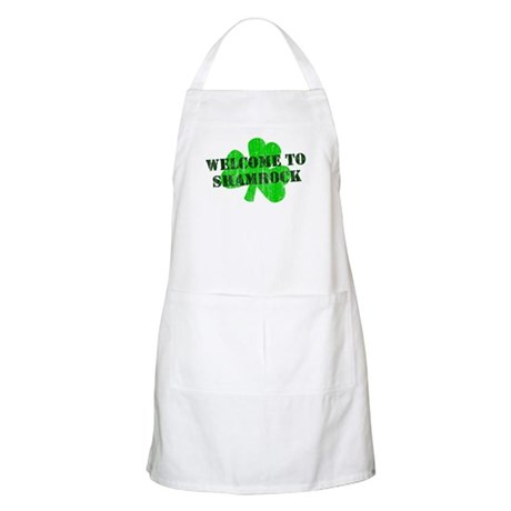Welcome to Shamrock BBQ Apron