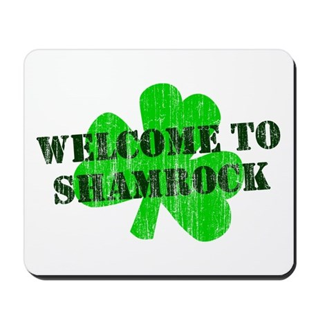 Welcome to Shamrock Mousepad