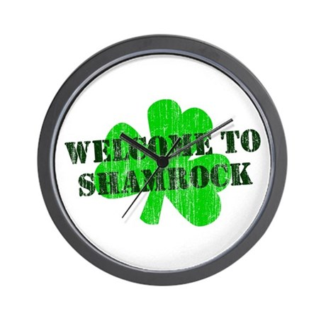 Welcome to Shamrock Wall Clock