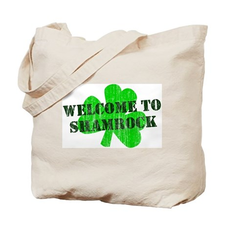 Welcome to Shamrock Tote Bag