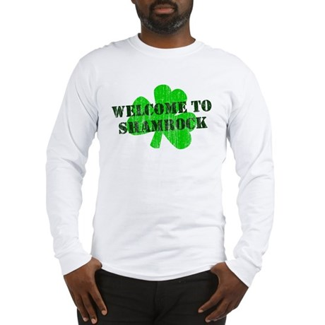 Welcome to Shamrock Long Sleeve T-Shirt