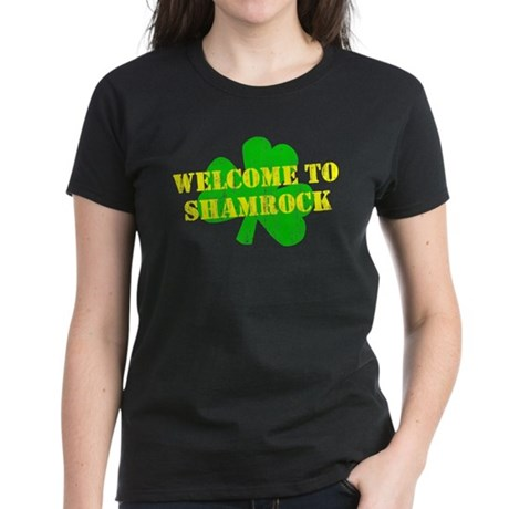 Welcome to Shamrock Womens T-Shirt