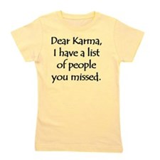 Dear Karma Girl's Tee