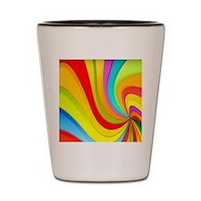 swirlyrainbow-113902 Shot Glass