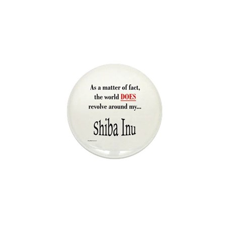 Shiba World Mini Button