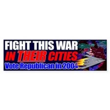 Fight This War In THEIR Cities