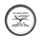 Fox World Wall Clock