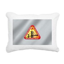 Starfleet Academy Laptop Rectangular Canvas Pillow