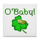 Irish Baby Tile Coaster