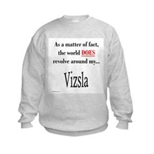 Vizsla World Sweatshirt