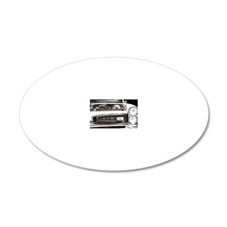 cp lfp 1967 GTO 20x12 Oval Wall Decal