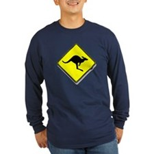 """Kangaroo Crossing"" T"