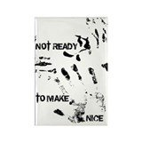 NOT READY Rectangle Magnet (100 pack)