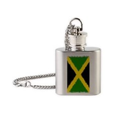 Jamaica Jouranl Flask Necklace