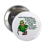 Irish Deplomacy Button