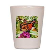 Monarch Butterfly Wall Calendar Page, C Shot Glass