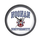 NOONAN University Wall Clock