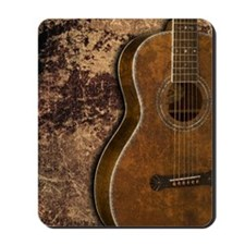 Acoustic guitar journal Mousepad
