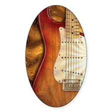 Electric guitar journal -strat- str Decal