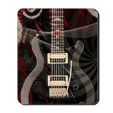 Electric guitar journal Mousepad