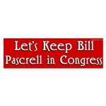 Bill Pascrell for Congress Bumper Sticker