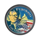 Unique Senator franken Wall Clock