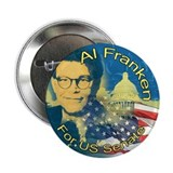 "Cute Al franken 2.25"" Button (100 pack)"
