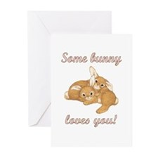 Some Bunny Loves You Greeting Cards (Pk of 10)