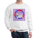 Agility Clumber Spaniel Sweatshirt