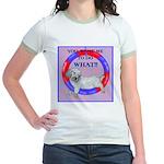 Agility Clumber Spaniel Jr. Ringer T-Shirt