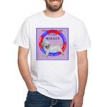 Agility Clumber Spaniel White T-Shirt