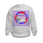 Agility Clumber Spaniel Kids Sweatshirt