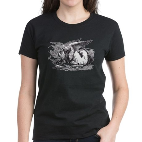 Sleeping Gryphon Women's Dark T-Shirt