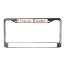 iDocRed License Plate Frame