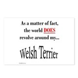 Welsh Terrier World Postcards (Package of 8)