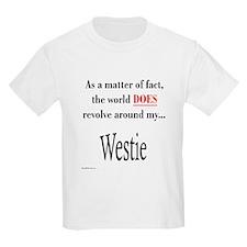 Westie World Kids T-Shirt