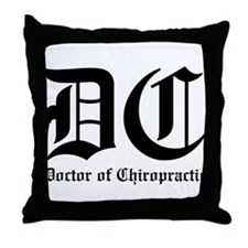 Doctor of Chiro Throw Pillow