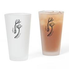 Spooningblack Drinking Glass