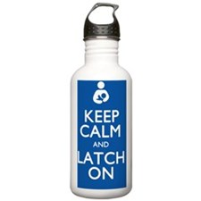 KEEPCALM10X10 Sports Water Bottle