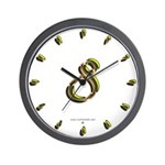 Phyllis Initials 8 Wall Clock