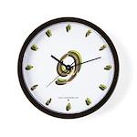 Phyllis Initials 9 Wall Clock
