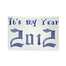 Its my Year 2012 Rectangle Magnet