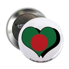 "I Love Bangladesh 2.25"" Button (100 pack)"