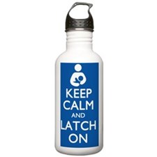 keepcalmmousepad Water Bottle