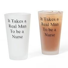 realmanNurse Drinking Glass