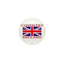 Unique Coventry england Mini Button