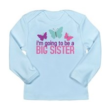 3-butterfly_bigsisteragain Long Sleeve T-Shirt
